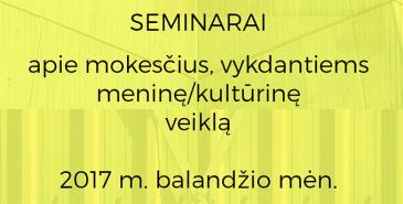 Mokesčių seminarai Lietuvoje-Arthesis